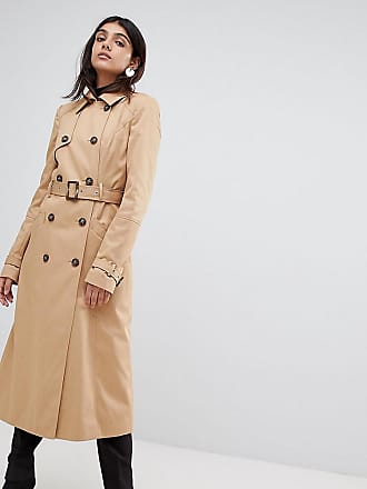 6154db6252 Asos Tall ASOS DESIGN Tall - Trench-coat long - Taupe