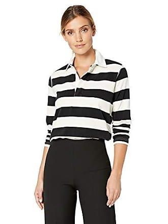 5e0f8324c6b03 Chaps Womens Stripe Fashion Polo Rugby Long Sleeve Shirt