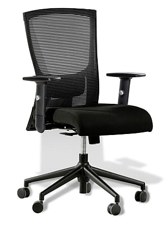 Unique Furniture Hanna High-Back Mesh Office Task Chair Burnt Orange - 5385