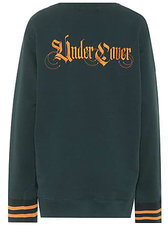 Undercover Embroidered cotton sweatshirt