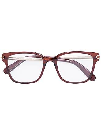 Salvatore Ferragamo Armação de óculos quadrada - Amarelo