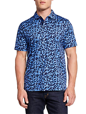 Bugatchi Mens Printed Sports Polo