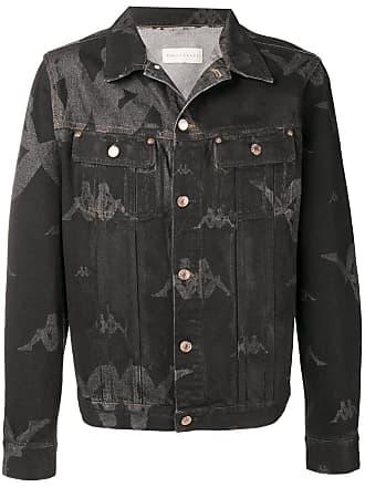 Paura Jaqueta jeans Sunney com logo - Preto
