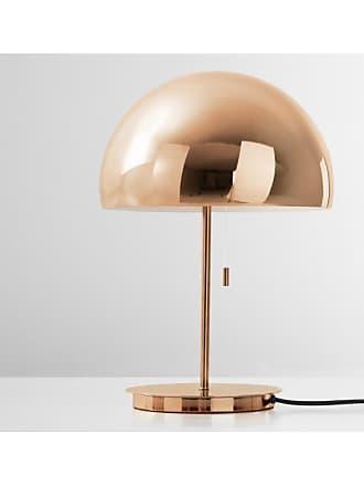 MADE.COM Collet Tischlampe, helles Kupfer