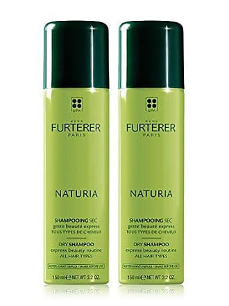 René Furterer NATURIA Dry Shampoo Duo, Oil-Absorbing, Clay, Beige Tint, 3.2 oz Set of 2