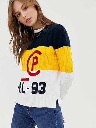 8d4090b6554 Polo Ralph Lauren Jersey de punto con logo colour block de Polo Ralph Lauren