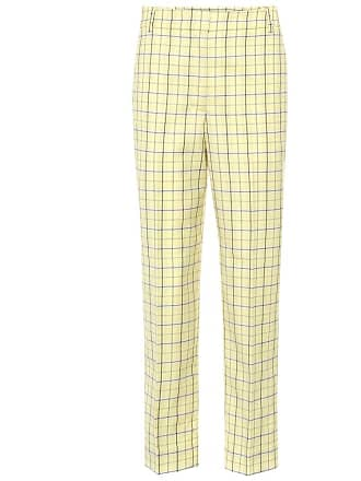 Tibi Taylor mid-rise cropped pants