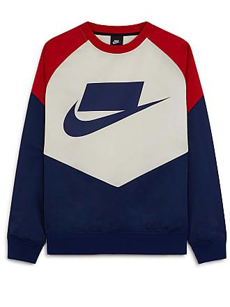 2c8fe83ddef99 Nike CREWNECK NSW WOVEN NIKE MARINE/ROUGE XS HOMME NIKE MARINE/ROUGE XS  HOMME