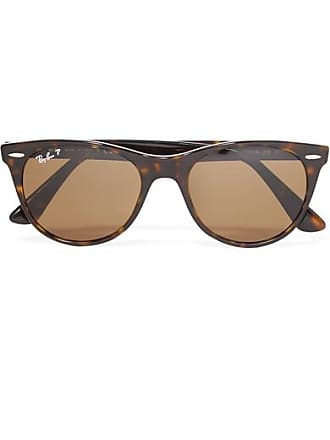 Ray-Ban The Wayfarer Ii Round-frame Tortoiseshell Acetate Sunglasses - Black