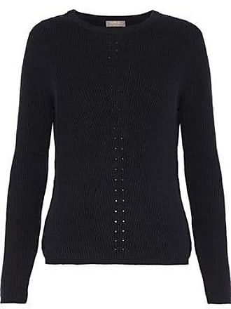 N.Peal N.peal Woman Ribbed Cashmere Sweater Black Size XS
