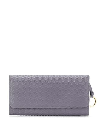 Zanellato wave-textured wallet - Grey