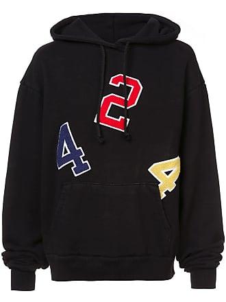 424 424 hoodie - Preto