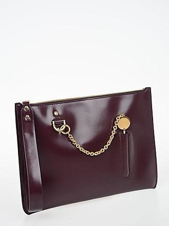 63e9b3e68 Sophie Hulme Leather TALBOT Wristlet Bag size Unica