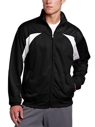 Soffe MJ Mens Splice Cadet Jacket, Black, Medium