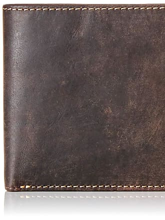 Visconti GENTS OIL BROWN LEATHER BIIFOLD WALLET 707
