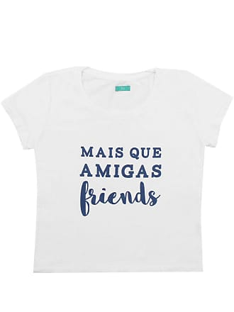 Bisi Blusa Bisi Friends Branca