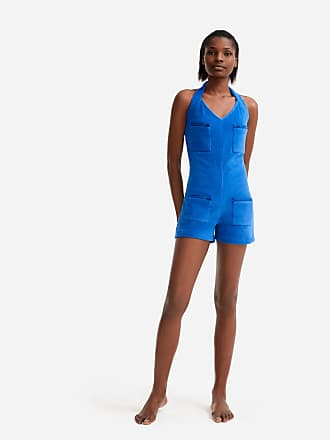 Vilebrequin Women Ready to Wear - Women terry Playsuit - Vilebrequin x JCC+ - Limited Edition - PLAYSUIT - CIRCUS - Blue - XS - Vilebrequin