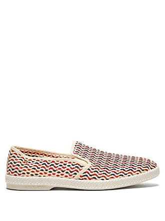 70225be938d Rivieras Shoes Napoles Pablo Woven Moccasins - Mens - Red Multi