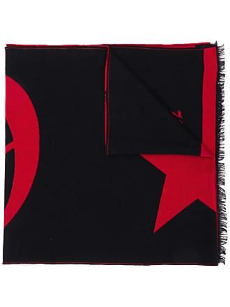 Philipp Plein Cachecol com logo - Vermelho