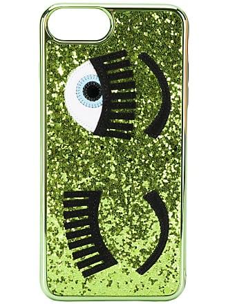 Chiara Ferragni Capa para iPhone 7 Flirting - Verde
