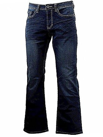 e01fd977eab Buffalo David Bitton Mens King Slim Fit Bootcut Jean, Sanded/Rusty, 38x30