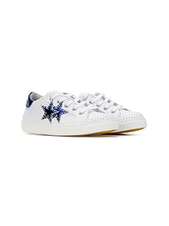 2Star Tênis com aplicações - Branco
