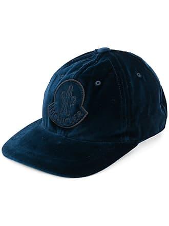 Moncler Boné com logo - Azul
