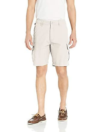 Quiksilver Waterman Mens Skipper Walk Shorts, Lunar Rock, 33
