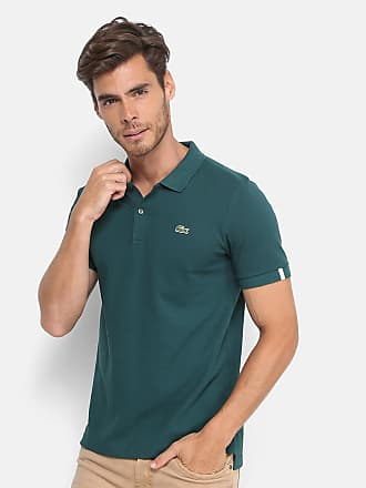 19ceef03cd6 Lacoste L!ve Camisa Polo Lacoste Live Piquet Masculina - Masculino