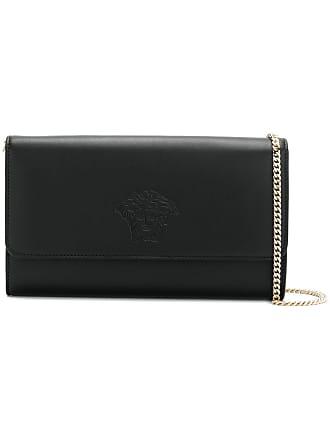 Versace embossed Medusa clutch - Black 243d6c0350ca2
