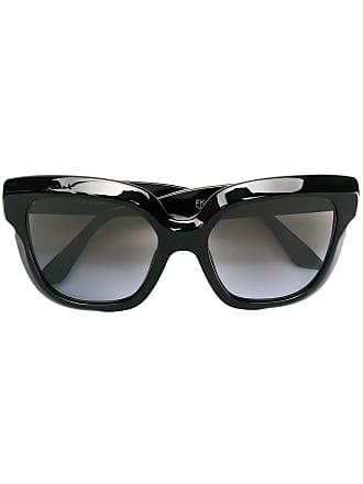 Emmanuelle Khanh oversized square sunglasses - Preto