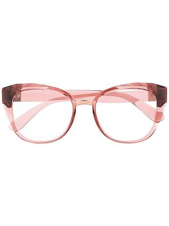 Dolce & Gabbana Eyewear Armação de óculos gatinho - Rosa