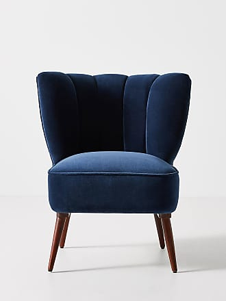 Anthropologie Fluted Petite Accent Chair