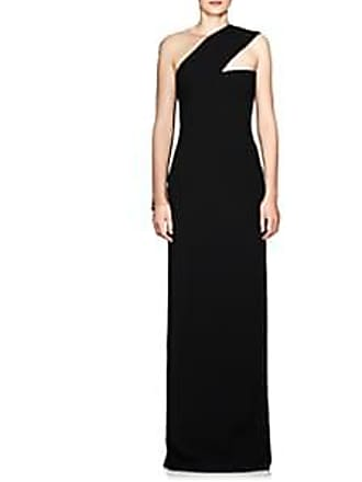 dbcfe60aecc52 Alexander Wang Womens Sheer-Sleeve Cady Gown - Black Size 0