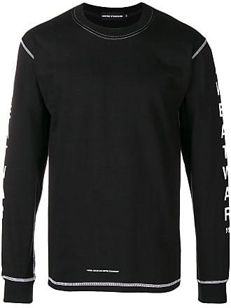 United Standard Camiseta com estampa de logo - Preto