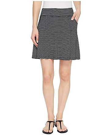 16c574f8cc84 Fresh Produce Pinstripe City Skort (Black) Womens Skort