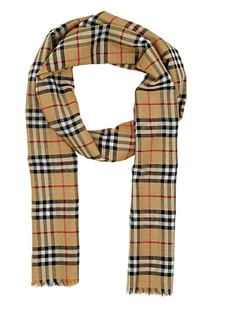b4444f780aa6f Burberry Vintage Check Scarf Antique Yellow Accessoire gelb