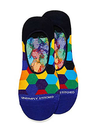 Unsimply Stitched Multicolour honeycomb ped socks