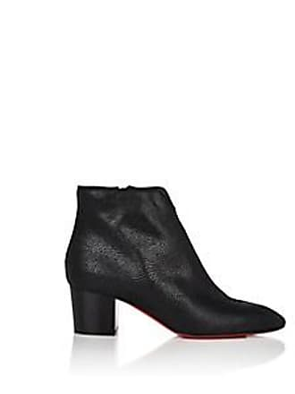 805ee2045dce Christian Louboutin Womens Disco 70s Leather Ankle Boots - Black