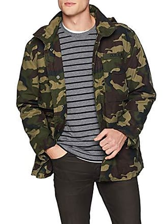 20d97cae92572 Obey Mens Iggy Insulated Military Jacket, Field camo, Small