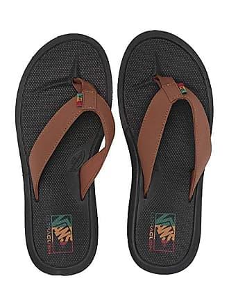 ec825f5c176f Vans Nexpa Synthetic (Dachshund Black Rasta) Mens Sandals