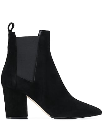 Sergio Rossi chunky heel ankle boots - Preto