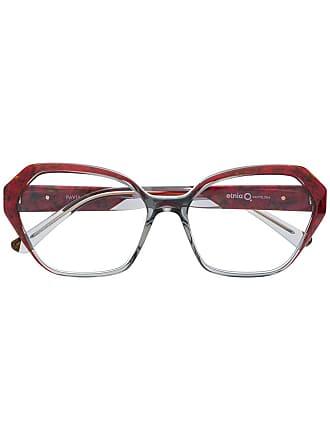 Etnia Barcelona Pavia square frame glasses - Vermelho