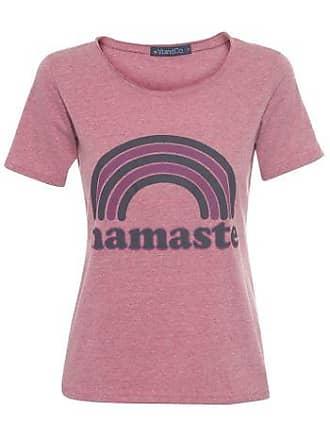 Vi And Co Camiseta Namaste Vi and Co - Vinho