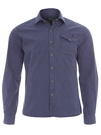 Replay CAMISA MASCULINA DESTROYED XADREZ - AZUL