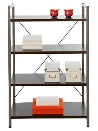 Unique Furniture Tribeca Bookcase with 4 Shelves