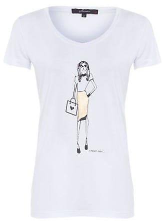 J. Chermann T-shirt Menina Chris Francini J. Chermann - Branco