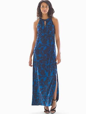 Adrianna Papell Daisy Maxi Dress Navy Multi, Size 12, from Soma