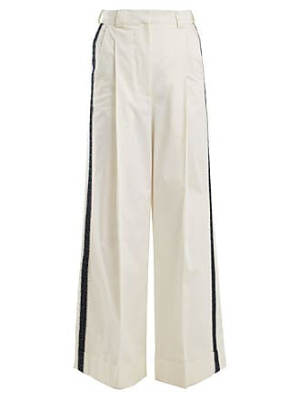 Zeus + Dione Aelous High Rise Trousers - Womens - Ivory