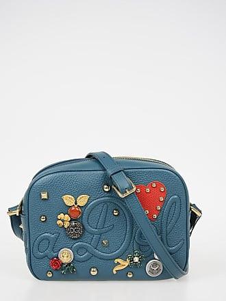 Dolce   Gabbana Borsa a Spalla GLAM in Pelle con Applicazioni taglia Unica e2c837b10ab